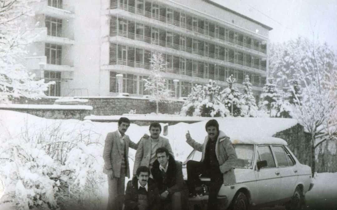 Çam Otel'den eski bir fotoğraf