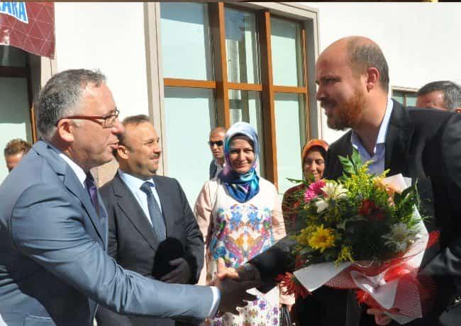 Bilal Erdoğan Çam Otel ziyareti