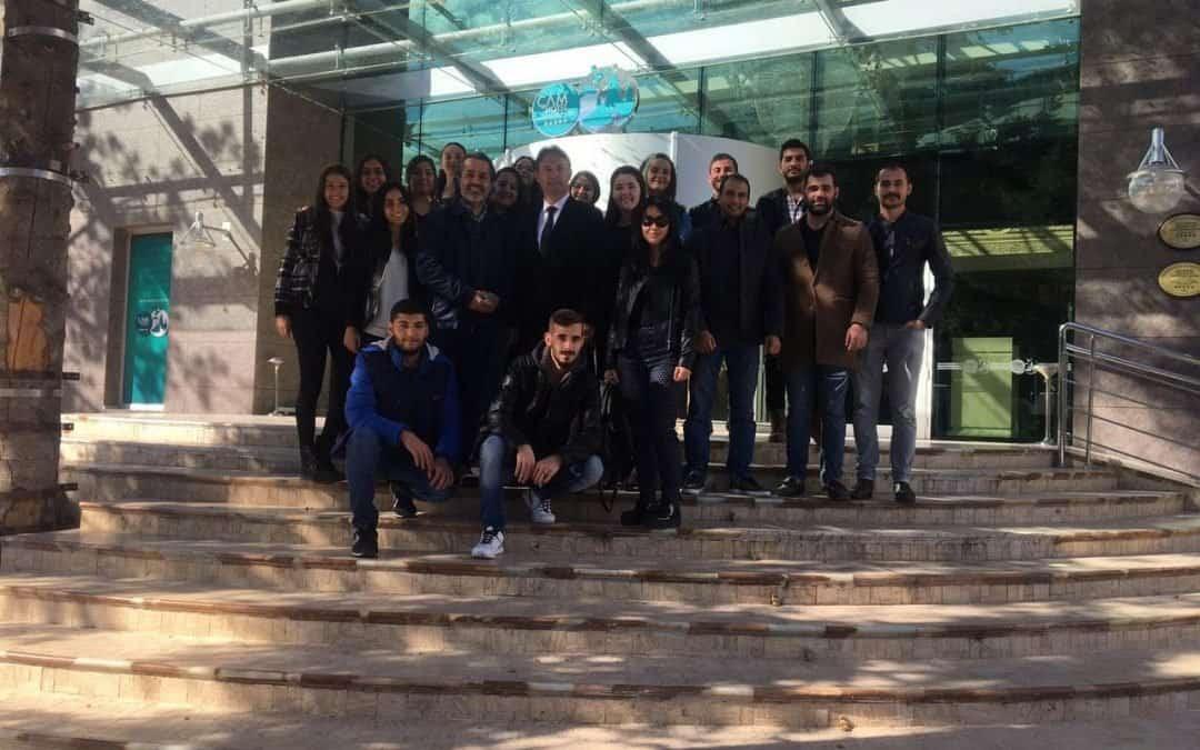 Gazi Üniversitesi öğrencilerinin Çam Otel ziyareti