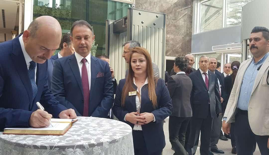 İç İşleri Bakanı Süleyman Soylu ile Gençlik ve Spor Bakanı Muharrem Kasapoğlu, Çam Hotel'i Ziyaret Etti!