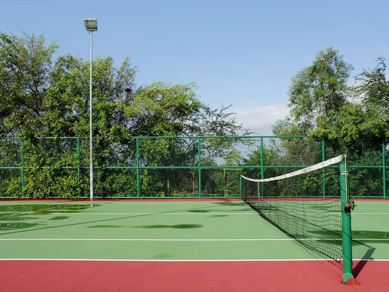 tenis kortu