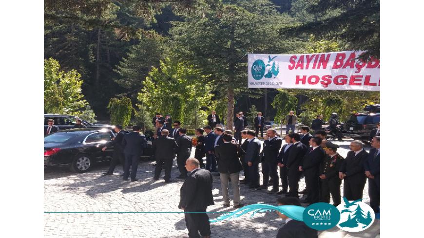 Türkiye Cumhuriyeti Başbakanımız Sayın Binali Yıldırım Beyefendi Çam Hotel'e Hoşgeldiniz