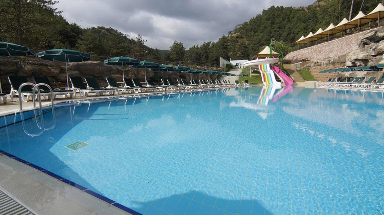 Çam Hotel - Açık Havuz ve Aqua Park