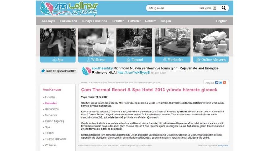 Çam Hotel - Spa Wellness Turkey