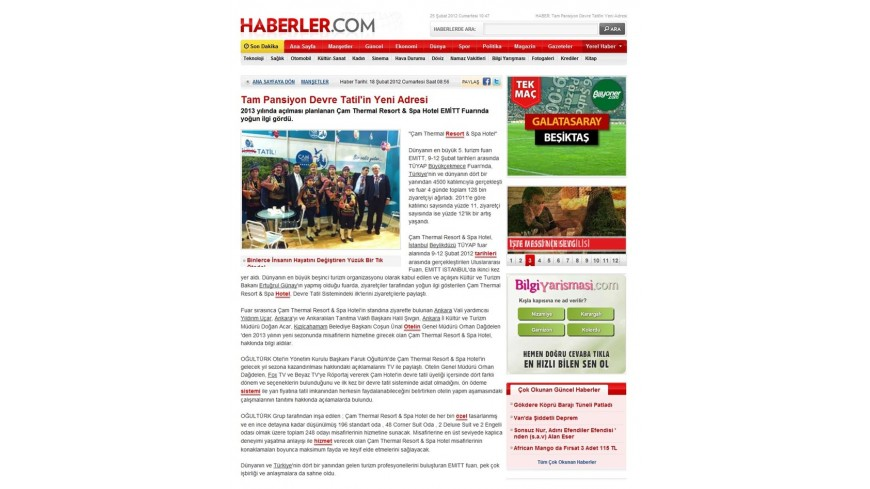 Çam Hotel - Haberler.com