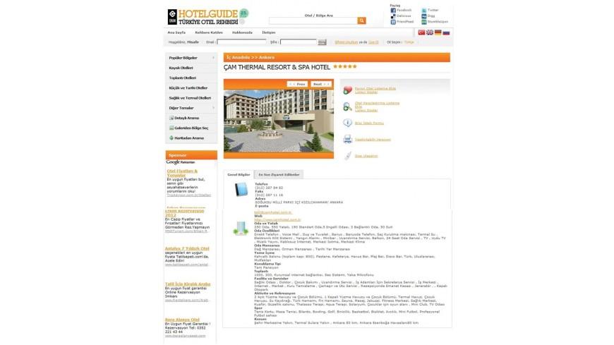 Çam Hotel - Hotel Guide