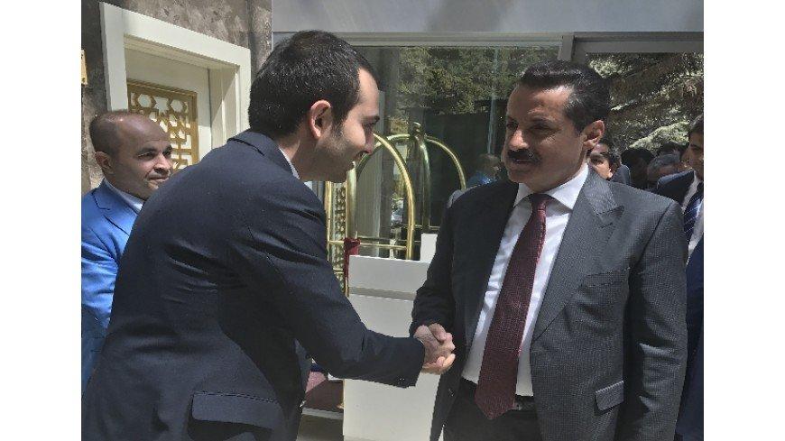 Türkiye Cumhuriyeti Gıda Tarım ve Hayvancılık Bakanı Sayın Faruk Çelik Çam Hotel'de