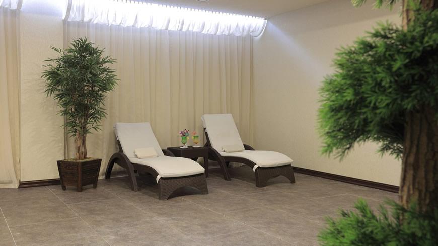 Çam Hotel - Masaj Sonrası Dinlenme Bölümü