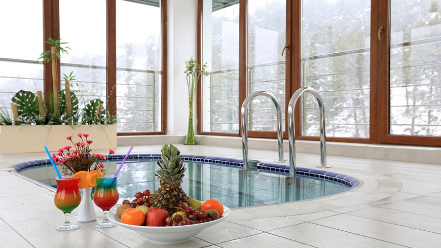 Çam Hotel - Teras Kat Vip Termal Havuz