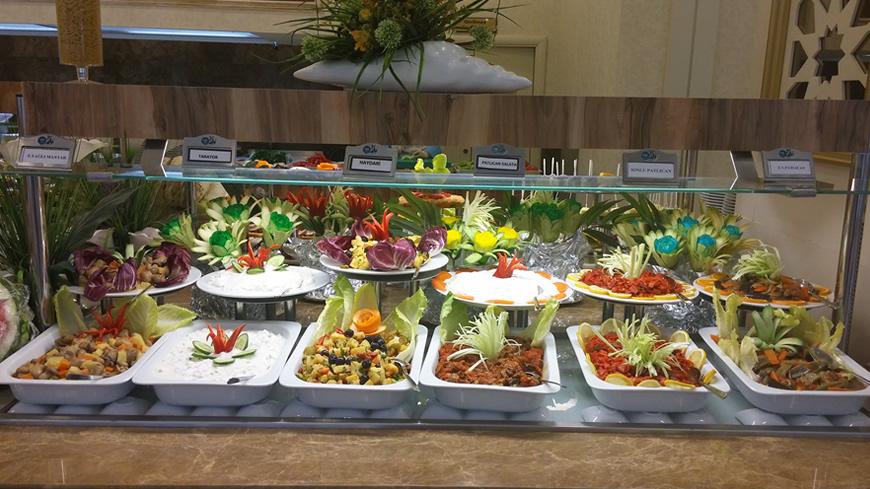 Çam Hotel - Kardelen Restaurant Açık Büfe