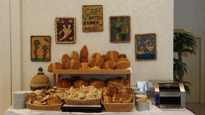 Çam Hotel - Kardelen Restaurant Ekmek Büfe