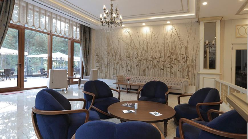 Çam Hotel - Lobby Lounge