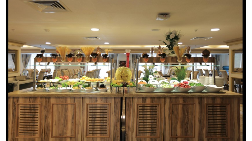 Çam Hotel - Orkide Restaurant Açık Büfe