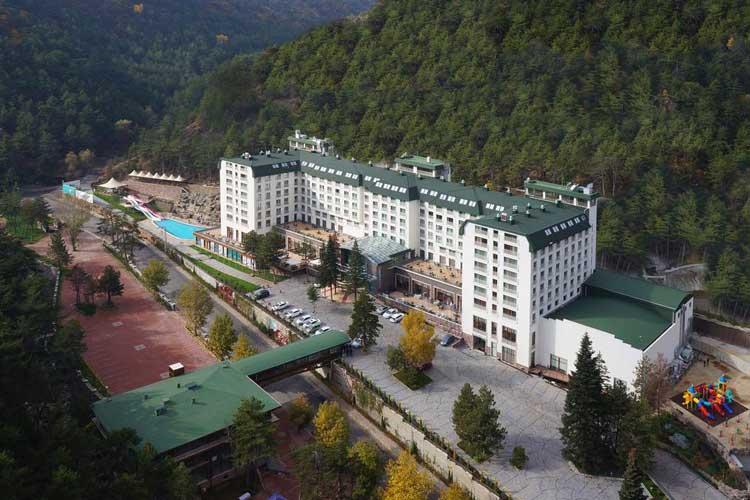 çam otel, kızılcahamam kaplıcaları