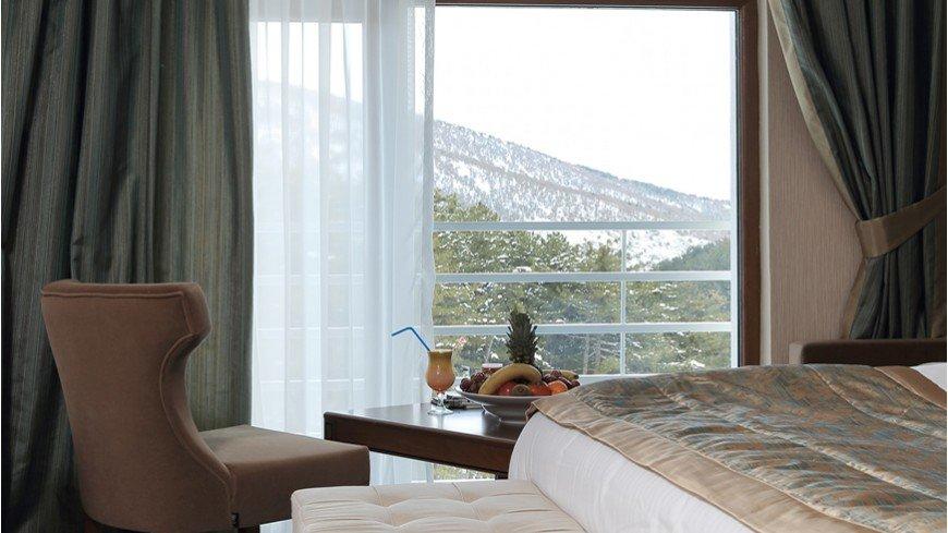 ankara kaplıcaları, çam otel odalar