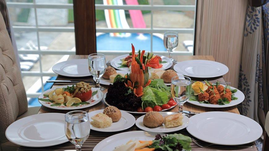 ankara kaplıcaları, çam otel restoran