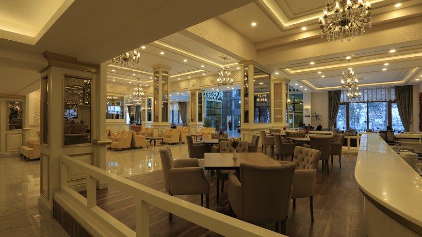 kızılcahamam yemekleri, kızılcahamam restoranları, çam otel lobby lounge
