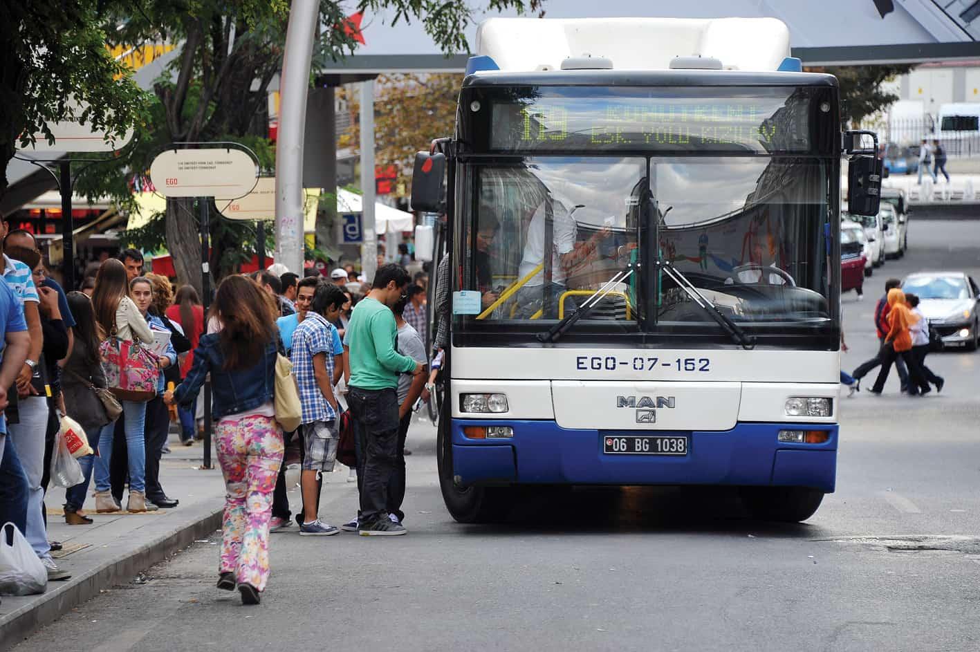 ankara kızılcahamam otobüs