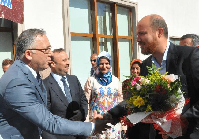 Bilal Erdoğan'ın Çam Otel ziyareti