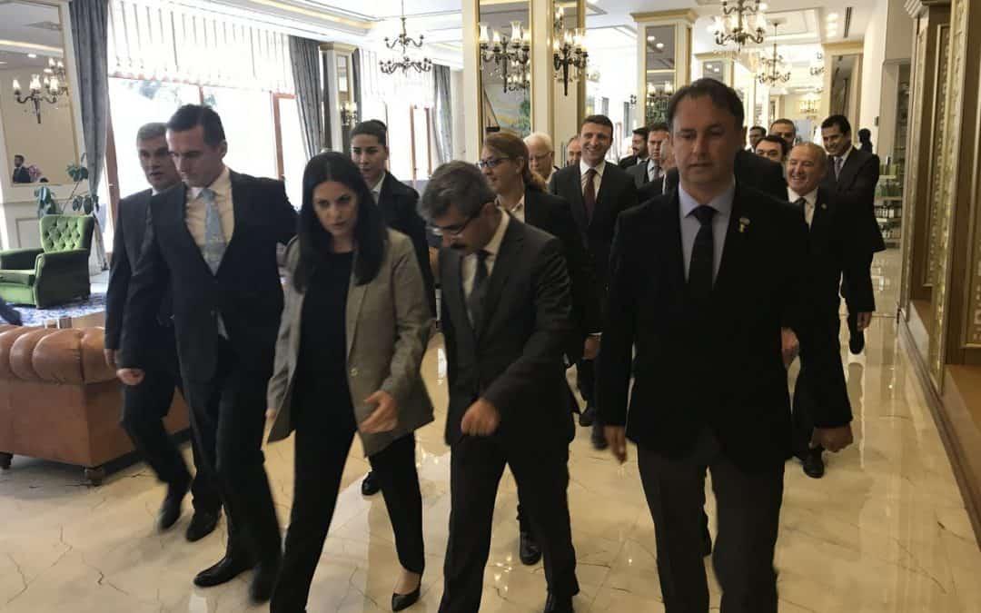 T.C. Çalışma ve Sosyal Güvenlik Bakanı Sayın Julide Sarıeroğlu Çam Hotel'e Hoş Geldiniz