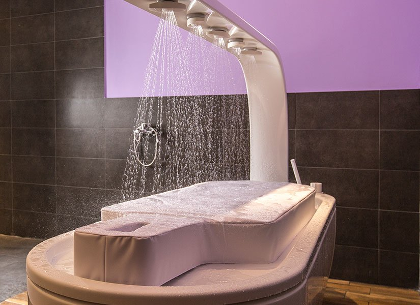 afüzyon duşu masajı