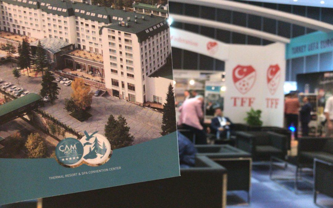 Çam Hotel Olarak, FIFEX Uluslararası Futbol Endüstrisi Forum ve Fuarı'ndaydık!