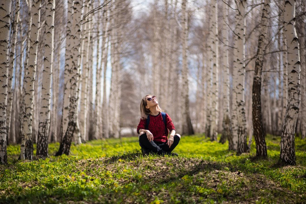 doğadaki kadın, insan ve doğa
