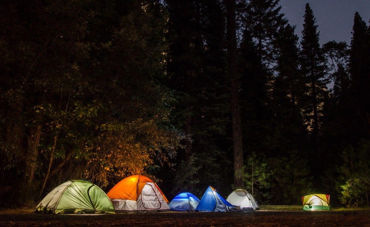 kamp için gerekli malzemeler, kamp çadırları