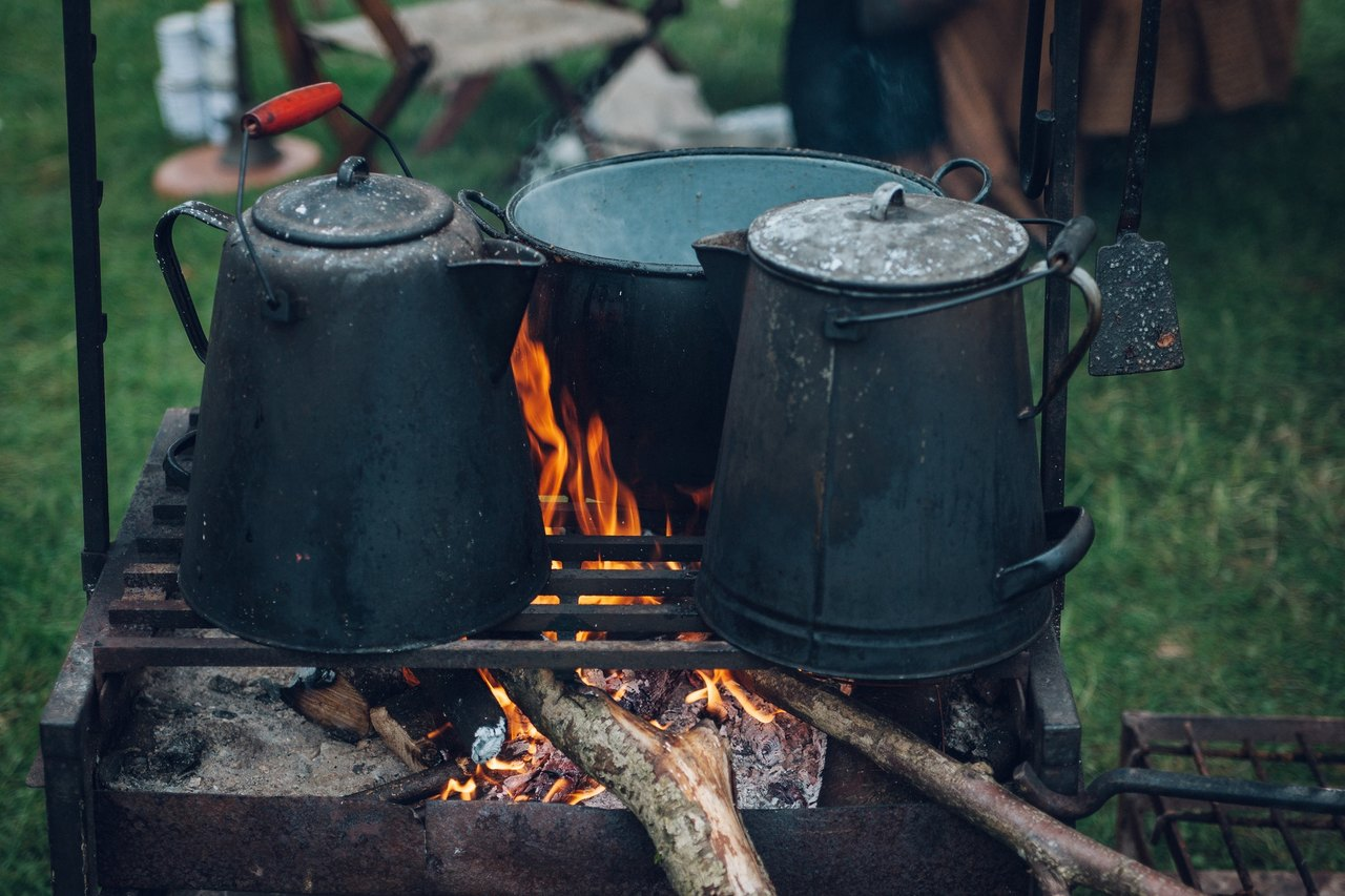 kamp yemeği, kamp için gerekli malzemeler