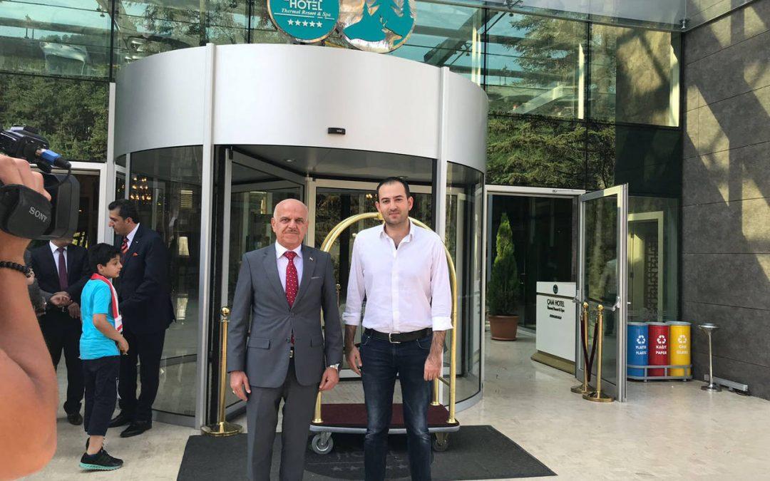 Çam Hotel Irak Büyükelçisi Hussain Mahmood'u Ağırladı!