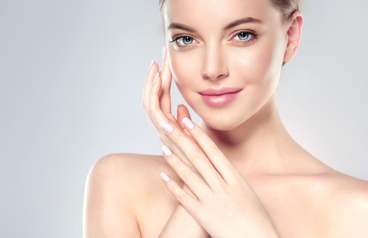 termal su cildi pembeleştiriyor, cildi güzel kadın