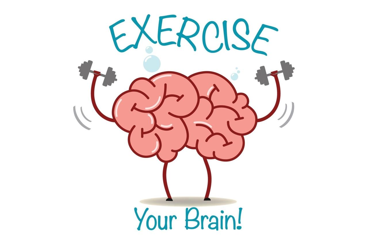 egzersiz yapan beyin
