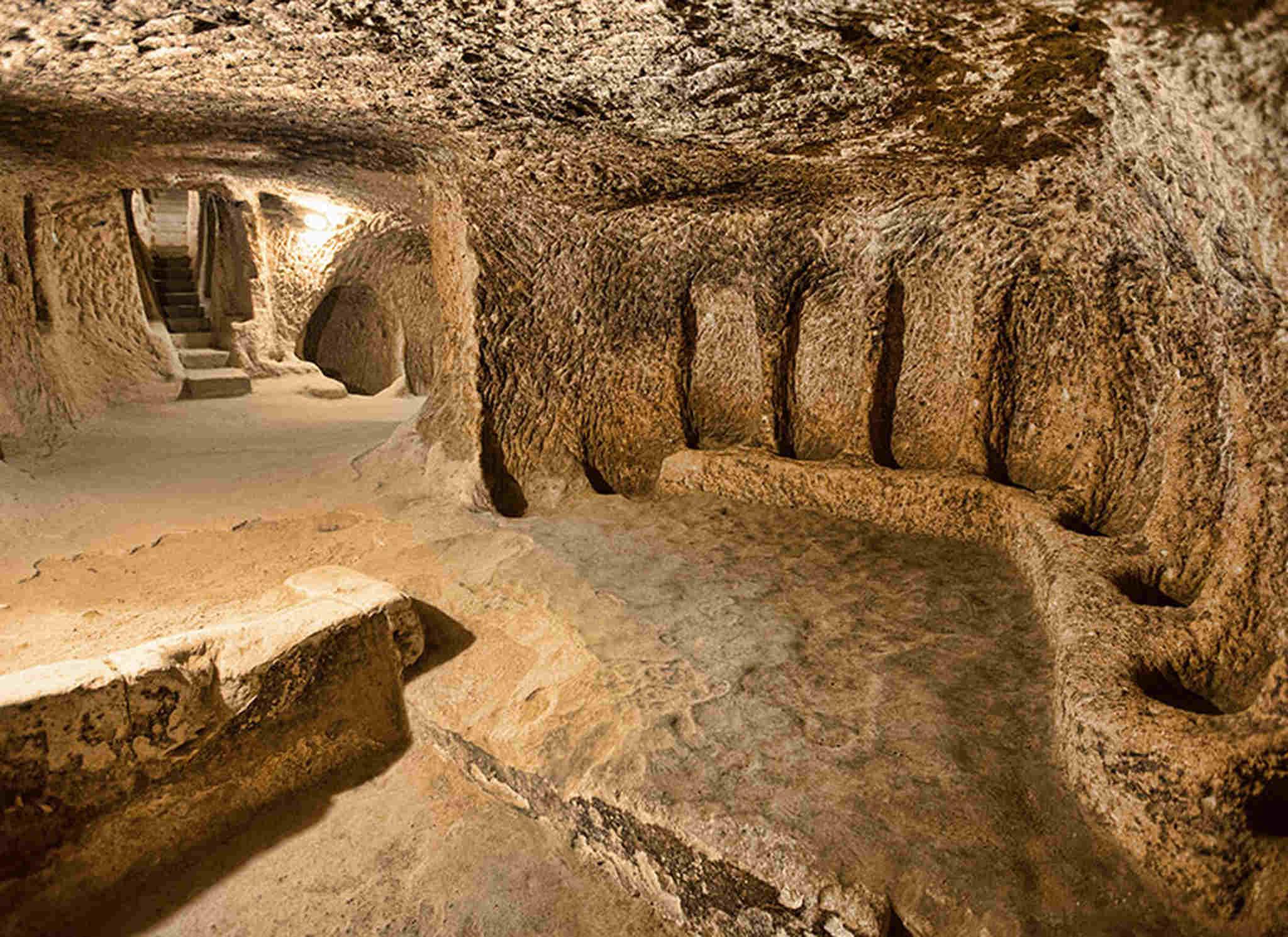iç anadolu derinkuyu mağara, iç anadolu
