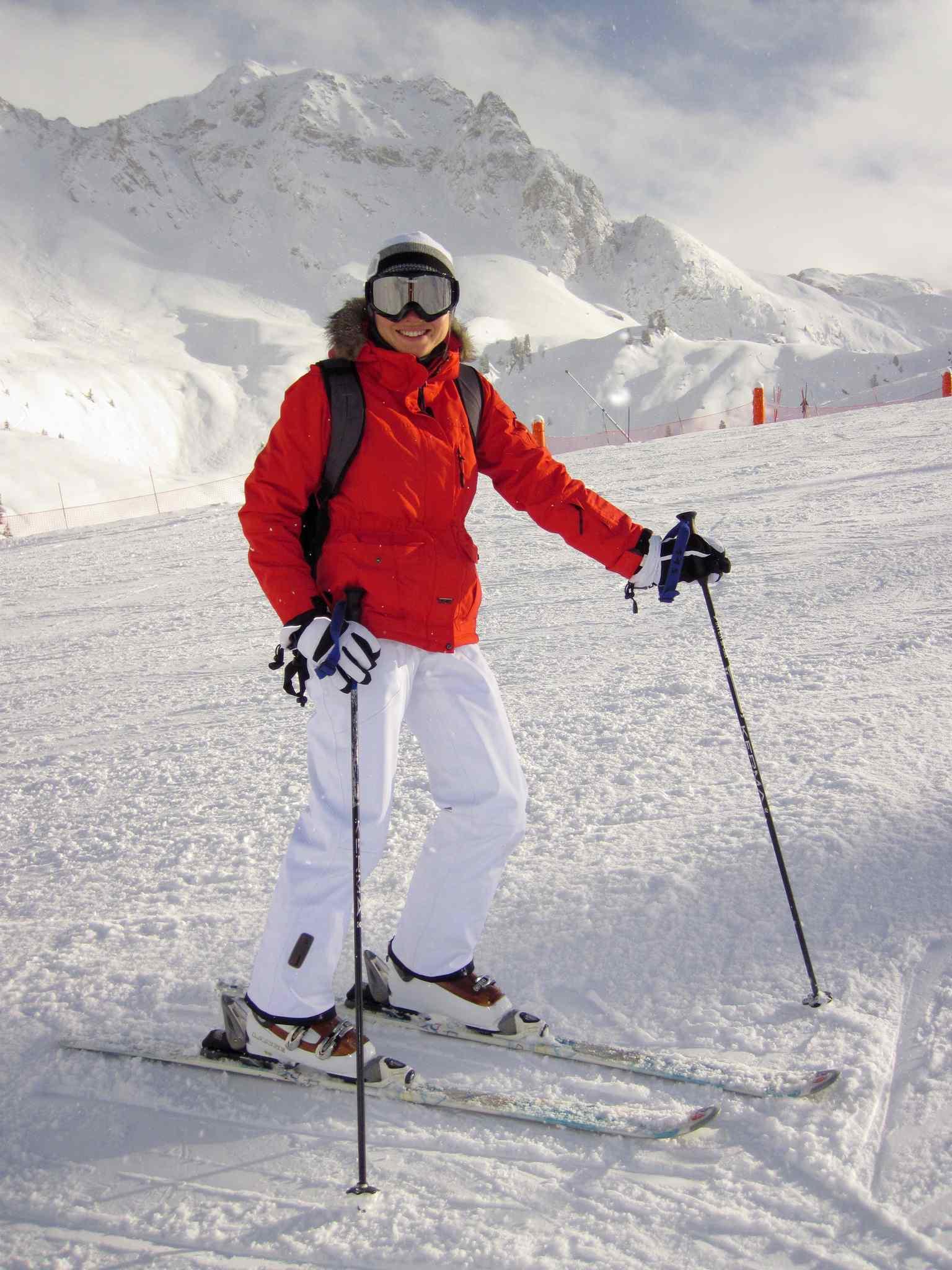 kayak yapan kadın, iç anadolu