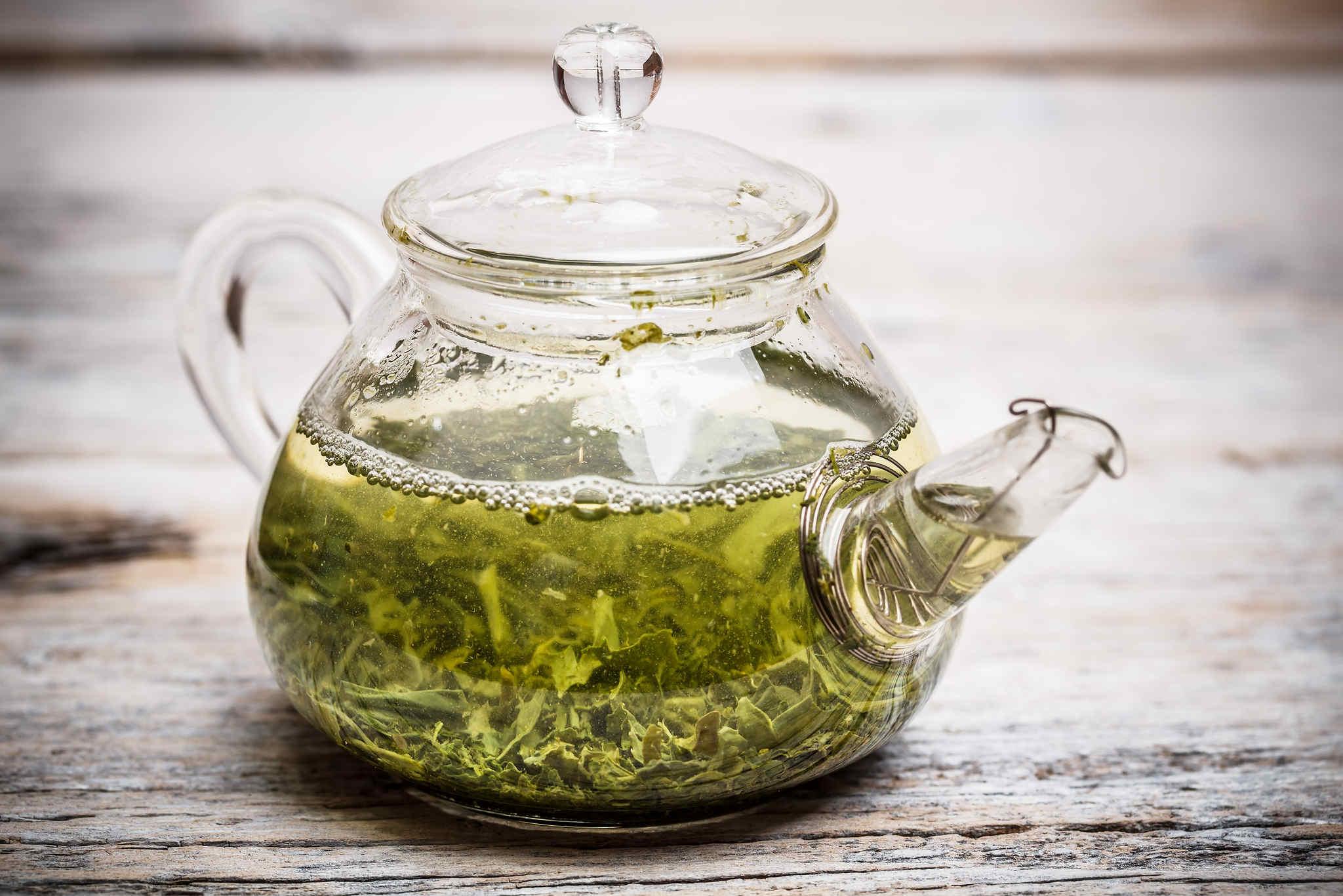 yeşil çay, kireçlenme tedavisi