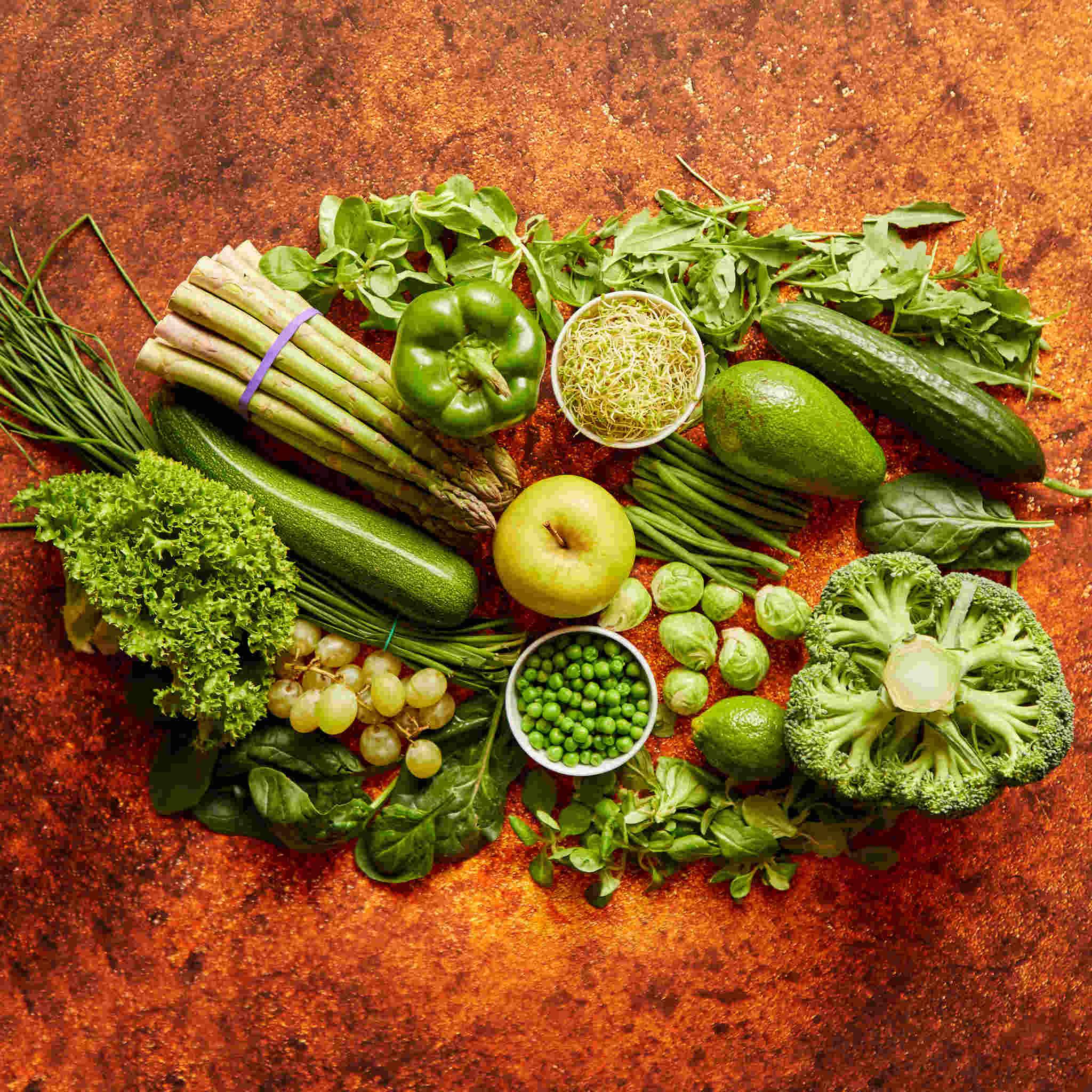 yeşil sebzeler, kireçlenme tedavisi